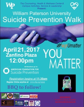 Suicide Prevention Walk Preview